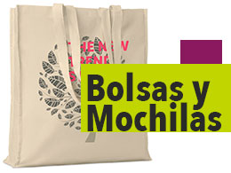 regalos para ferias y congresos bolsas y mochilas
