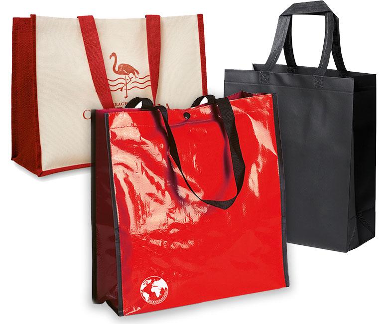 bolsas personalizadas en diversos materiales