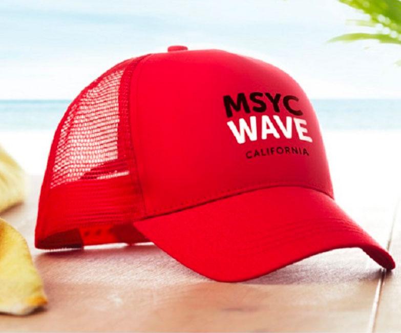 gorras publicitarias y camisetas