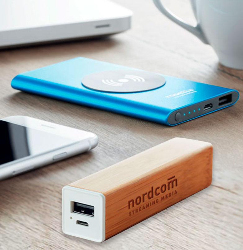 powerbanks personalizados para tu empresa
