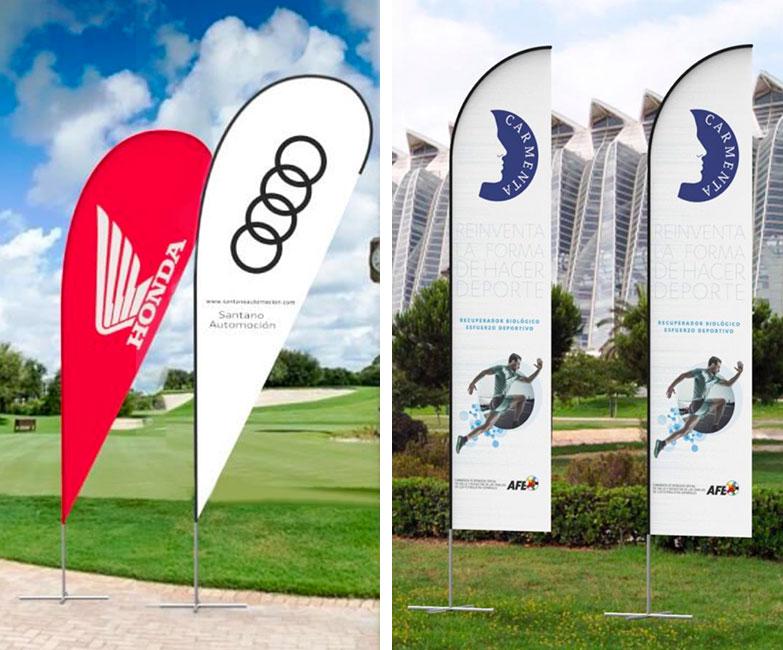 banderas publicitarias personalizadas