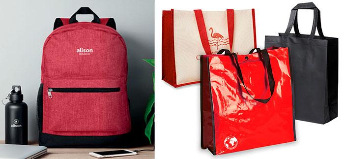productos de publicidad mochilas y bolsas