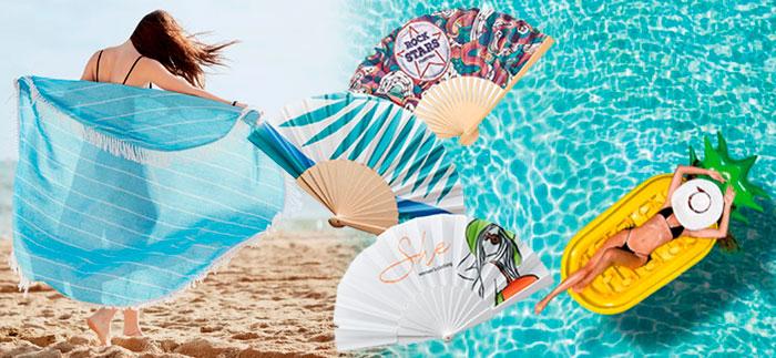 artículos promocionales verano y playa