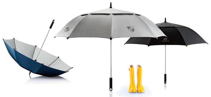 artículos promocionales paraguas
